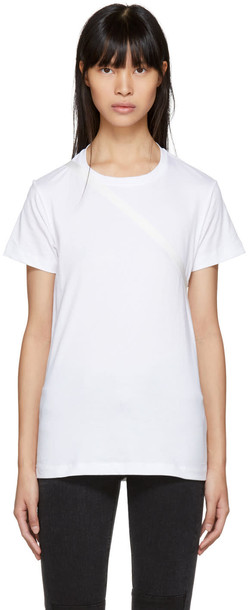 Helmut Lang t-shirt shirt t-shirt white top