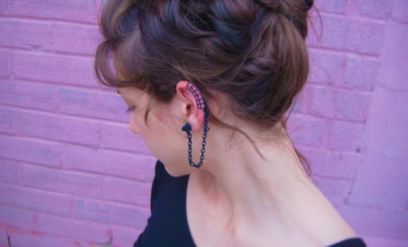 jewels ear cuff earrings 3dprint 3d printed ear wrap ear wraps 3d print