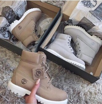 shoes timberlands grey boots