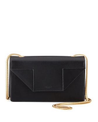 Saint Laurent Betty Mini Chain Shoulder Bag, Black - Neiman Marcus