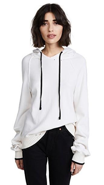 Pam & Gela hoodie hollywood cream sweater