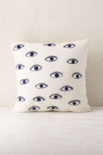 home accessory decorative cushions decoration eyes home decor pillow urban outfitters