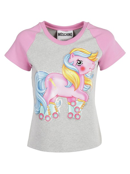 Moschino t-shirt shirt t-shirt varsity top