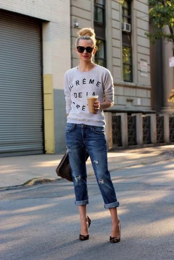 blouse pants bag shoes