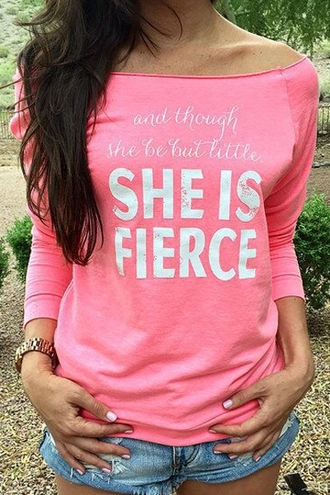 sweater pink fashion style cool trendy long sleeves boat neck long sleeve letter print t-shirt stylish clothes warm cozy