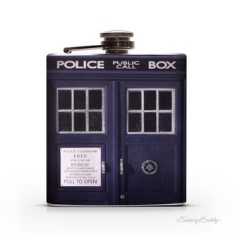 phone cover flask doctor who