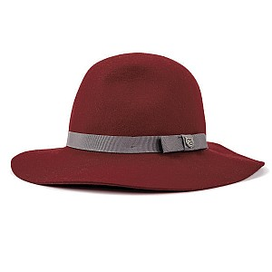 Brixton Hats Dalila Floppy Hat - Wine from Village Hats