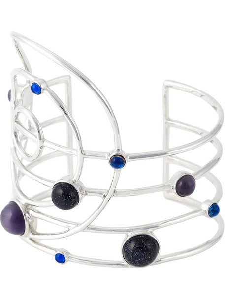 cuff women blue jewels
