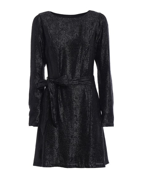 Michael Kors dress long sleeve dress long black