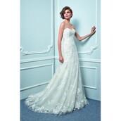 dress,ivory dress,back,enzoani wedding dresses,beautiful,floor length dress