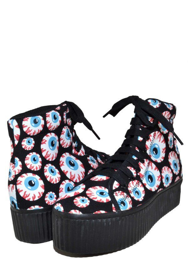 JC Play 'Hiya' Platform Sneaker Eyeball | eBay