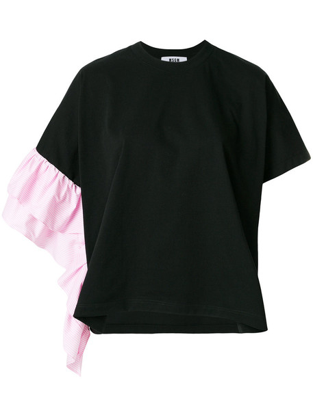 top women cotton black