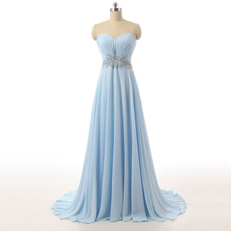dress prom prom dress sky blue blue blue dress sweetheart dress maxi dress maxi love lovely long long dress crystal shiny sparkle wow girly trendy cool cute cute dress bridesmaid long bridesmaid dress beautiful princess dress amazing