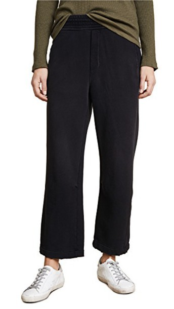Current/Elliott sweatpants black pants