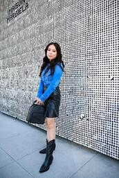 hautepinkpretty,blogger,shirt,skirt,bag,shoes,jewels