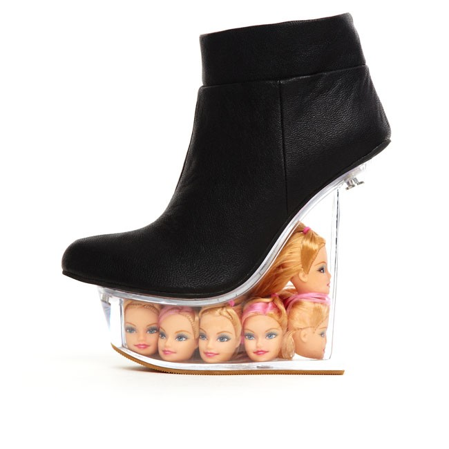 Jeffrey Campbell 'Ice Doll', black