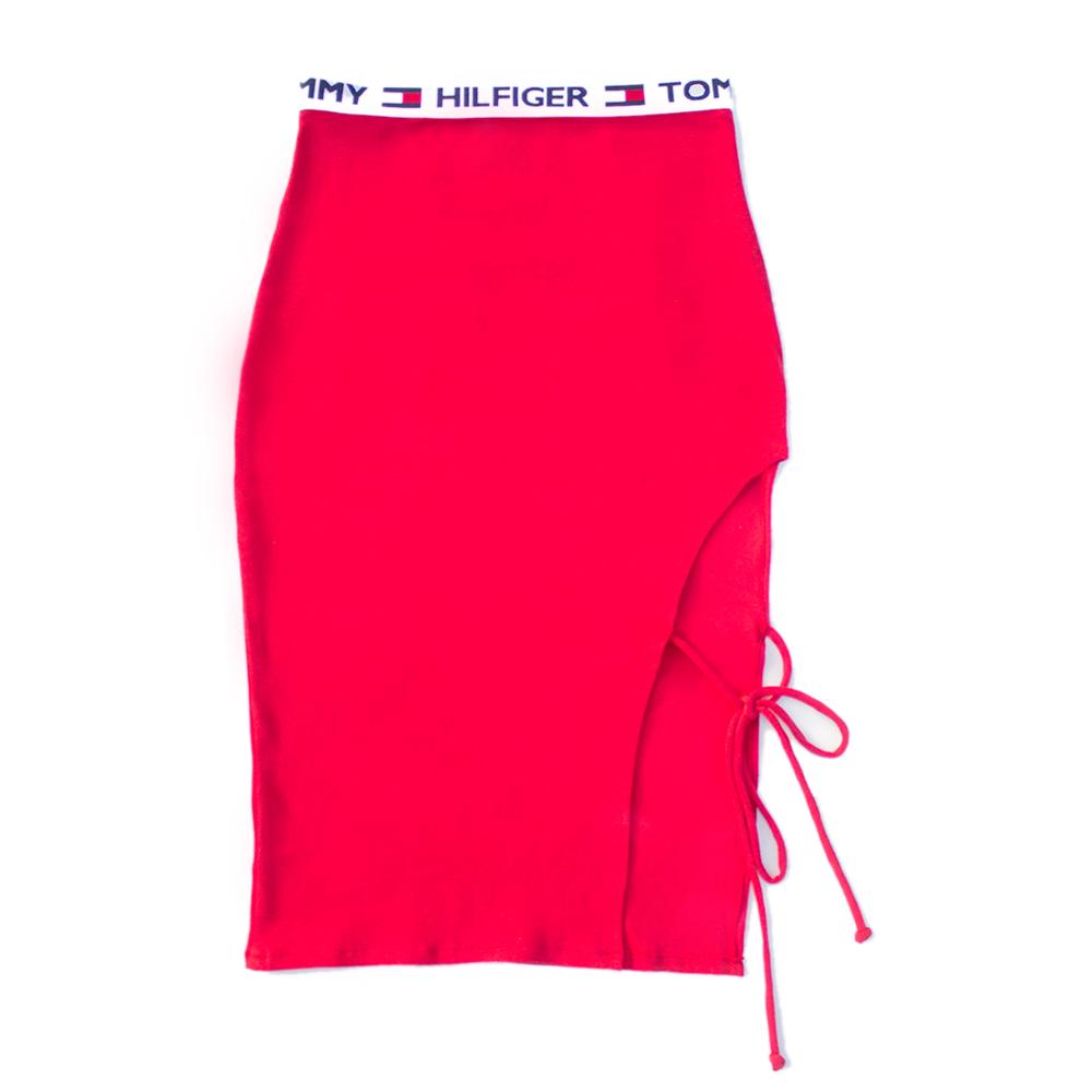 Split Tie Skirt | MOB84