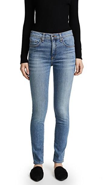 Veronica Beard Jean jeans skinny jeans retro blue