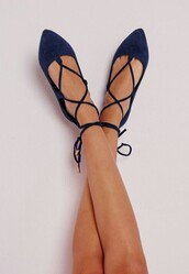 shoes,dark blue,lance,ballerina,flats,prom shoes,prom,ballet flats,ballet,blue,navy,lace up,shoes black grunge flat,strappy,strappy flats,pointed toe pumps