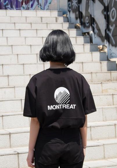 pants tumblr shirt t-shirt black kawaii dark kawaii grunge ahirt