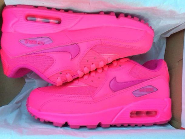 quality design dd1b7 2536b shoes air max nike air max 90 hyperpink hot pink