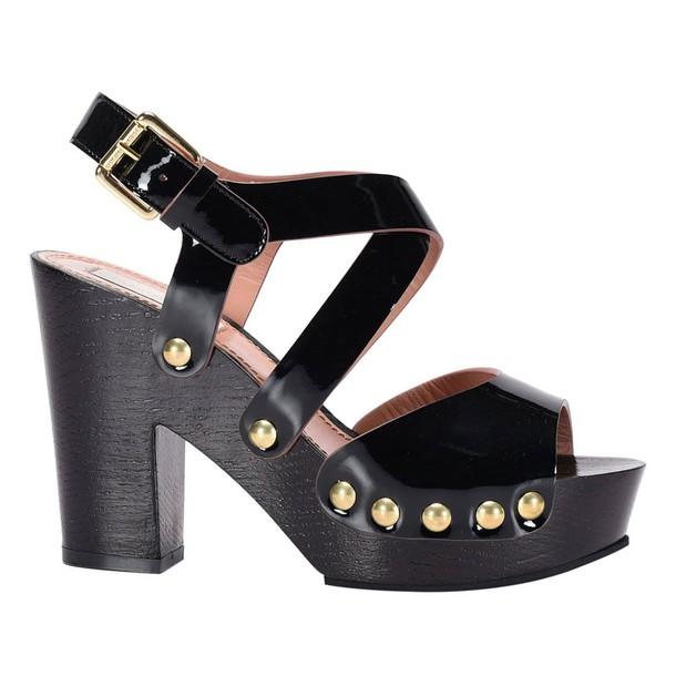 LAutre Chose sandals shoes women sandals shoes black