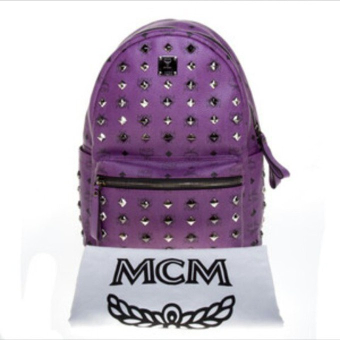 bag mcm mcm backpack backpack purple