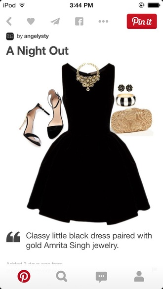 dress black little black dress fit and flare fit and flare black dress night out dress formal dress party dress homecoming graduation dress