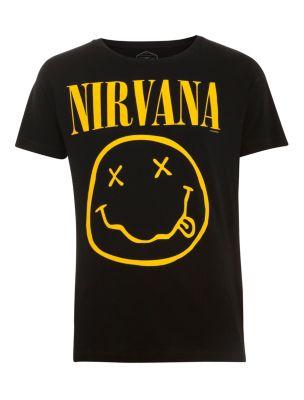 Black Nirvana Band T-Shirt