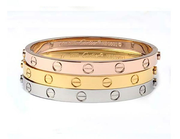 Cartier love forever bracelet bangle jewellery
