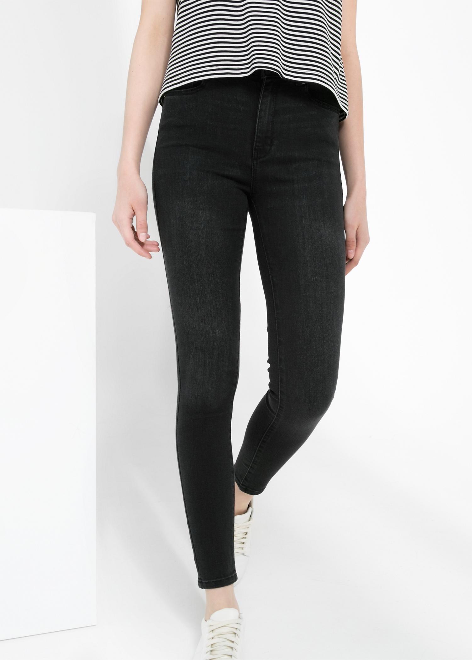 Jeans high waist broadway - Mujer | MANGO