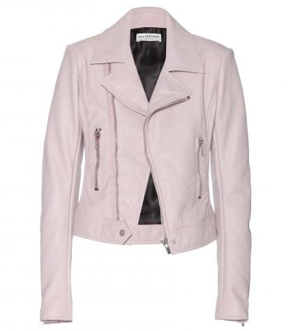 mytheresa.com -  Leather biker jacket  - leather & fur - jackets - clothing - Luxury Fashion for Women / Designer clothing, shoes, bags