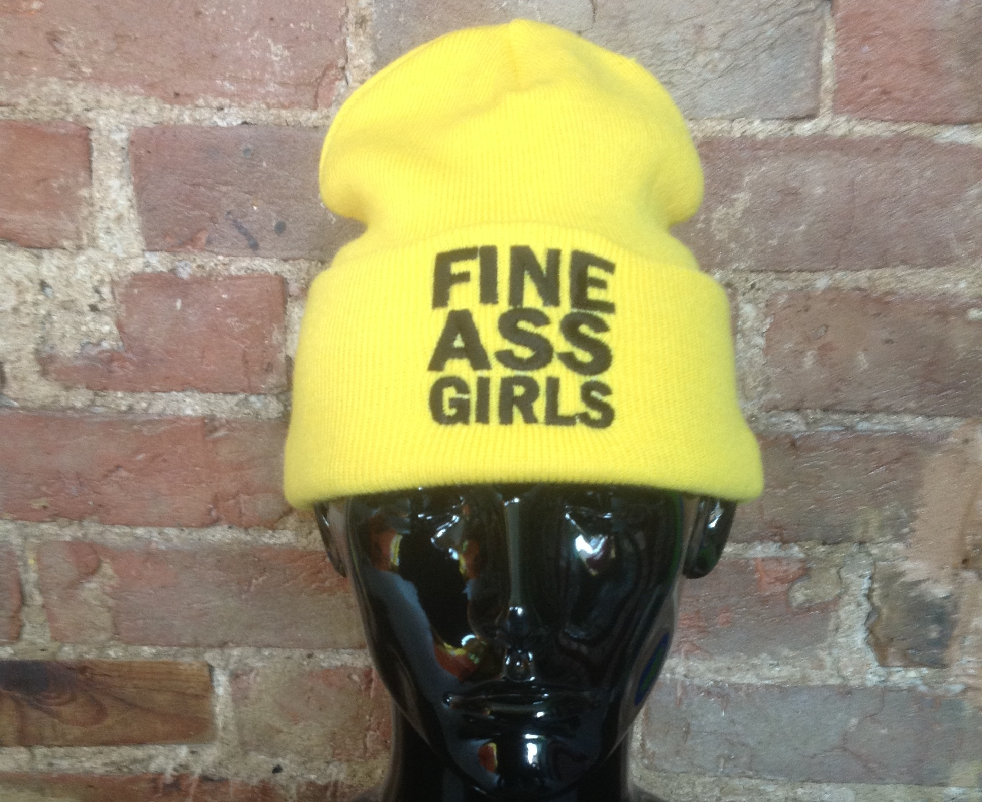 FINE ASS GIRLS beanie hat from TheTshirtShop on Storenvy