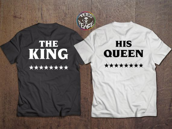 THE KING HIS QUEEN – TEES2PEACE