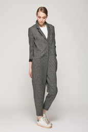 jumpsuit,wool,grey,romper
