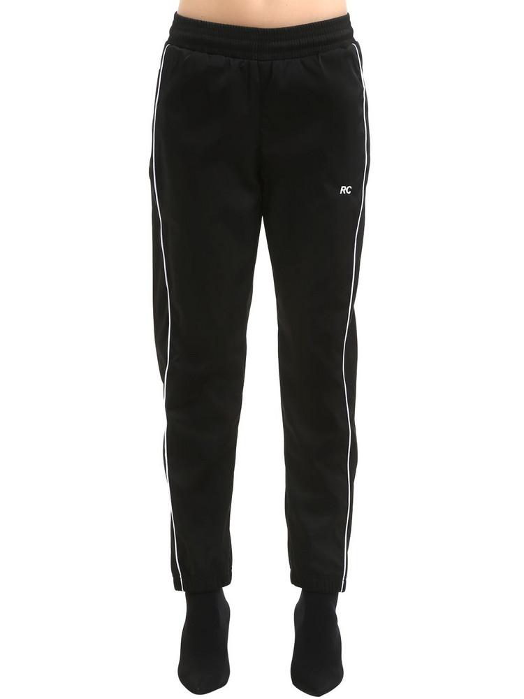 RESORT CORPS Survêtement Rc Nylon Track Pants in black