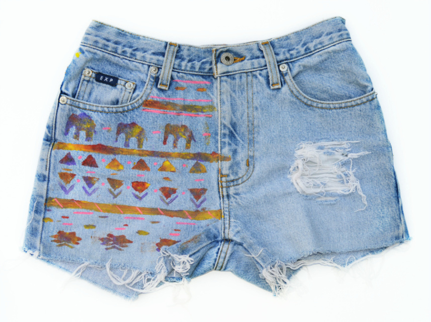The 'Triblel' Shorts - Nerdy Youth