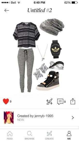 comfy grey t-shirt shoes
