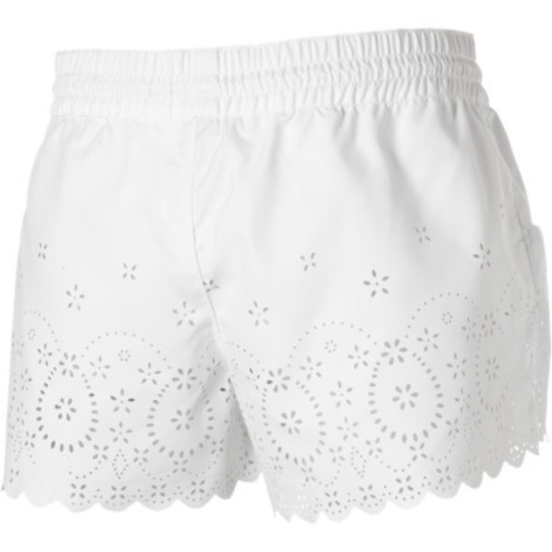 shorts roxy white shorts