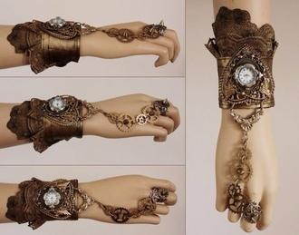 jewels steampunk watch gears cogs