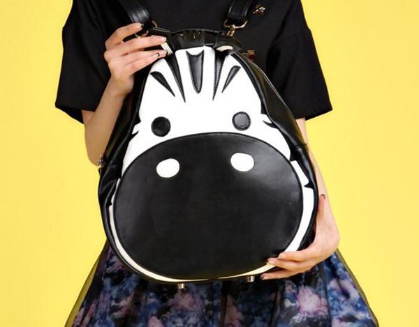 BG107  Summer Korean version of the new cartoon casual handbags, shoulders back school bags, river horse zebra bag-in Shoulder Bags from Luggage & Bags on Aliexpress.com