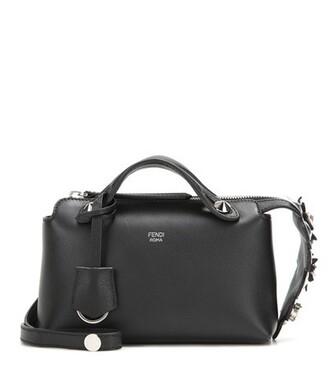 mini embellished bag shoulder bag leather black