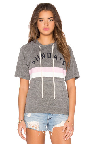 sweatshirt short stripes