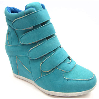 Blue Children's 'K- Kris' Turquoise Wedge Shoes | Overstock.com Shopping - The Best Deals on Sneakers