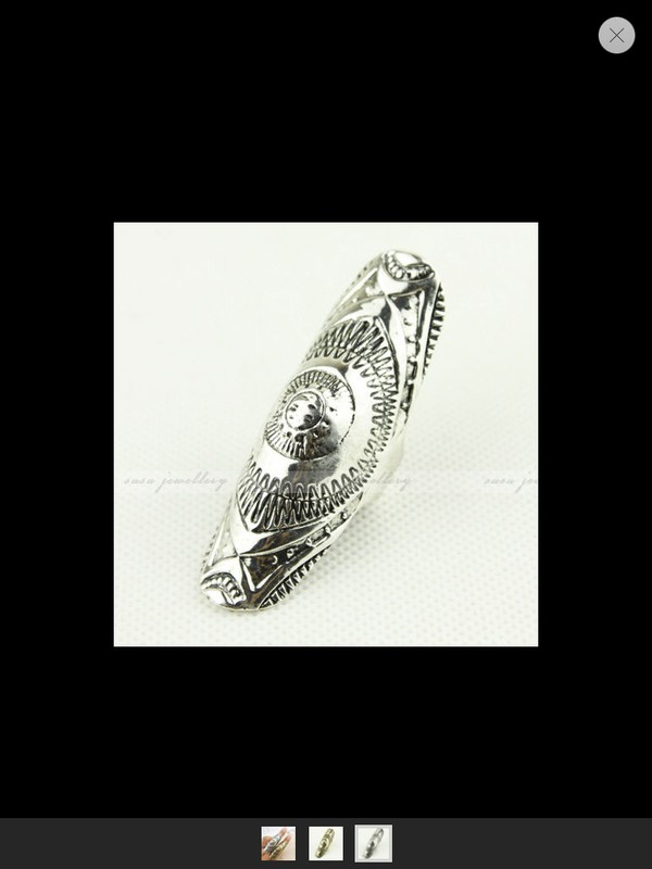 jewels ring aztec silver