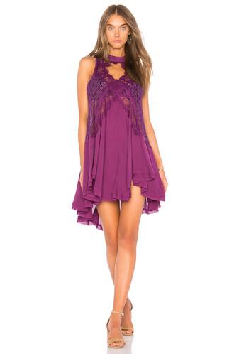 tunic heart sleeveless purple top