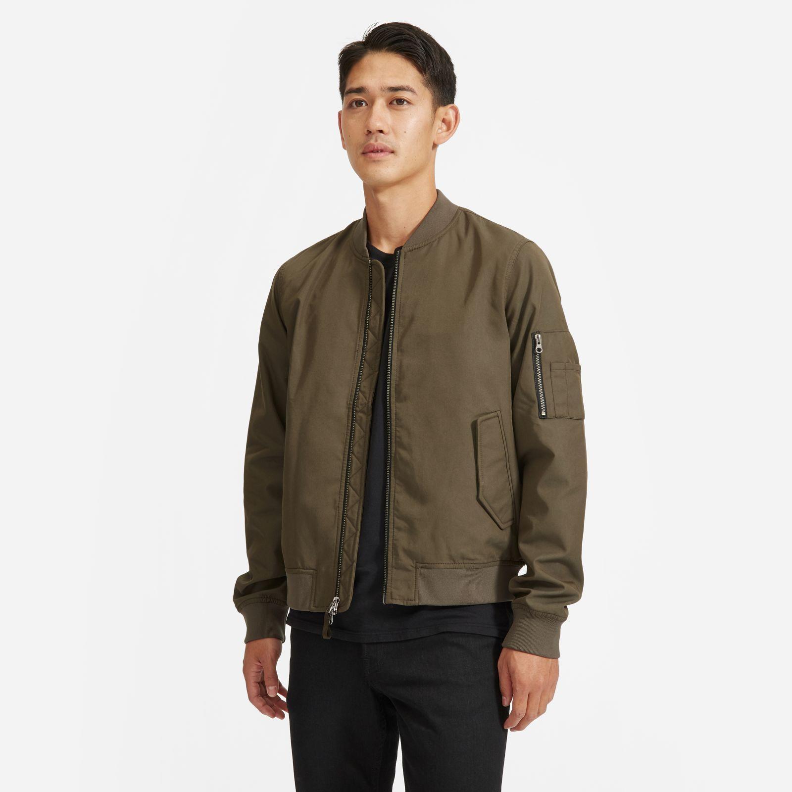 Men's Bomber Jacket | Uniform in Brushed Pewter