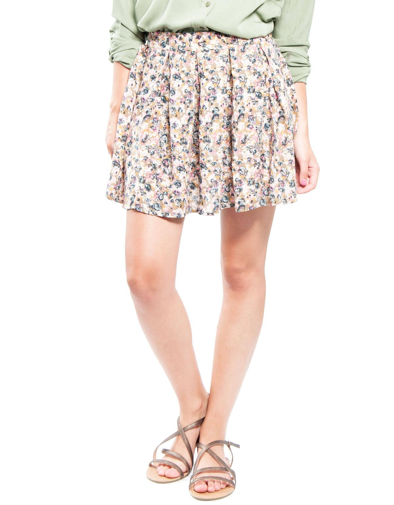 Military print skirt : clothes skirts
