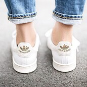adidas,shoes,boho,stan smith,gold shoes,streetstyle,hippie,demin,white sneakers,low top sneakers,adidas shoes,colorful,stan smith adidas,adias
