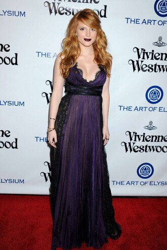 dress violet bella thorne gown prom dress red carpet dress